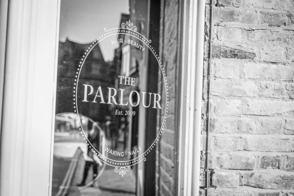 The Parlour front window